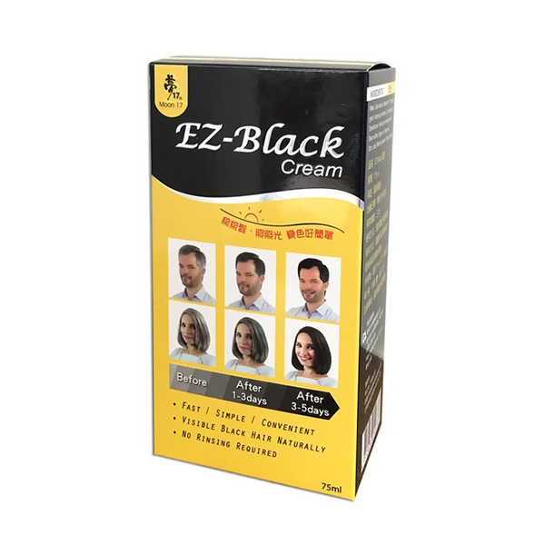 EZ-Black 一梳黑  還原髮色護髮霜