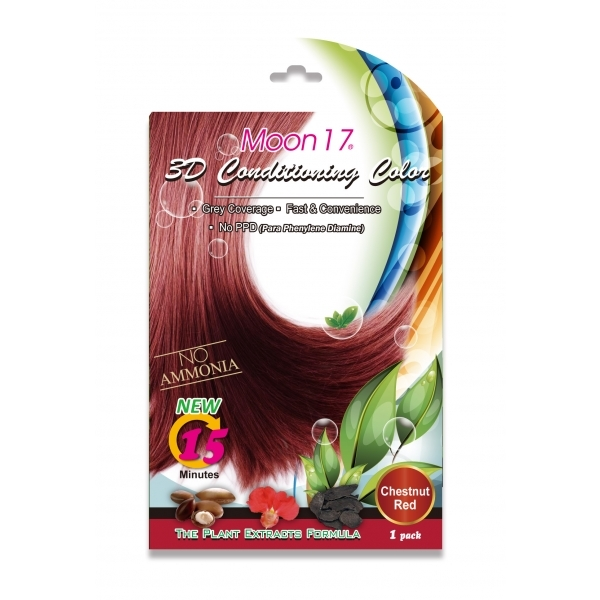 3D Conditioning Color - Chestnut Red (NO PPD)  1 Pack